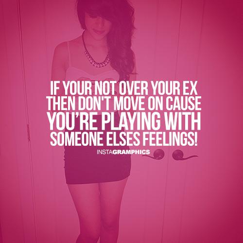 is my boyfriend over his ex